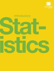 Introduction to Statistics textbook image